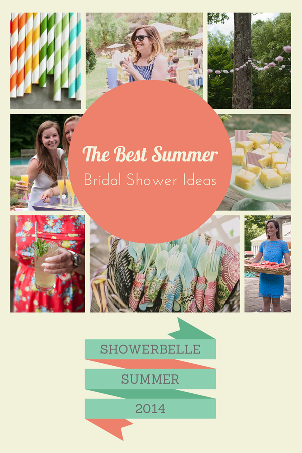 the best summer bridal shower ideas. Real bridal showers, recipes, tutorials, and inspiration on Showerbelle.