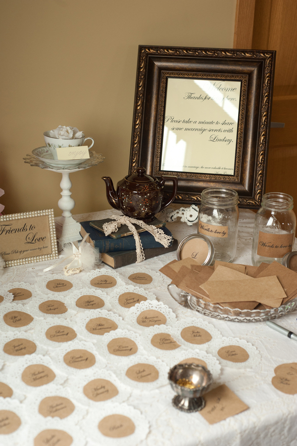 View This Real Vintage Tea Party Bridal Shower With Tons Of DIY Ideas On Showerbelle