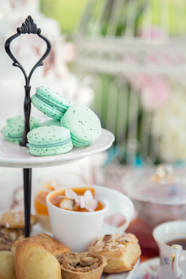 Swoon worthy tea party bridal shower inspiration on Showerbelle.
