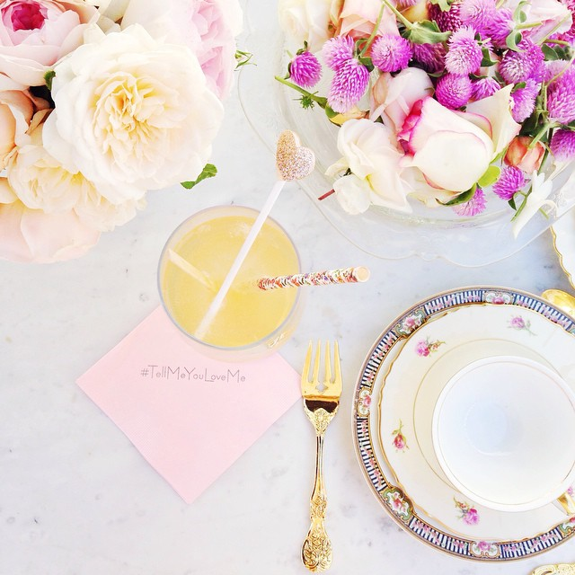 Lauren Conrad's stunning bridal shower on Showerbelle. Photo via  laurenconrad.com  via Instagram