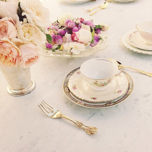 Lauren Conrad's stunning bridal shower on Showerbelle.