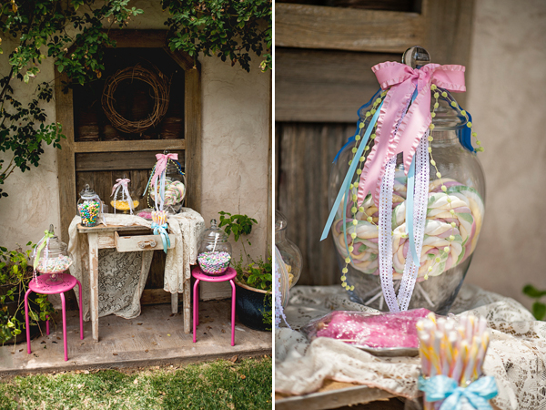 A wonderfully whimsical boho baby girl shower on Showerbelle.