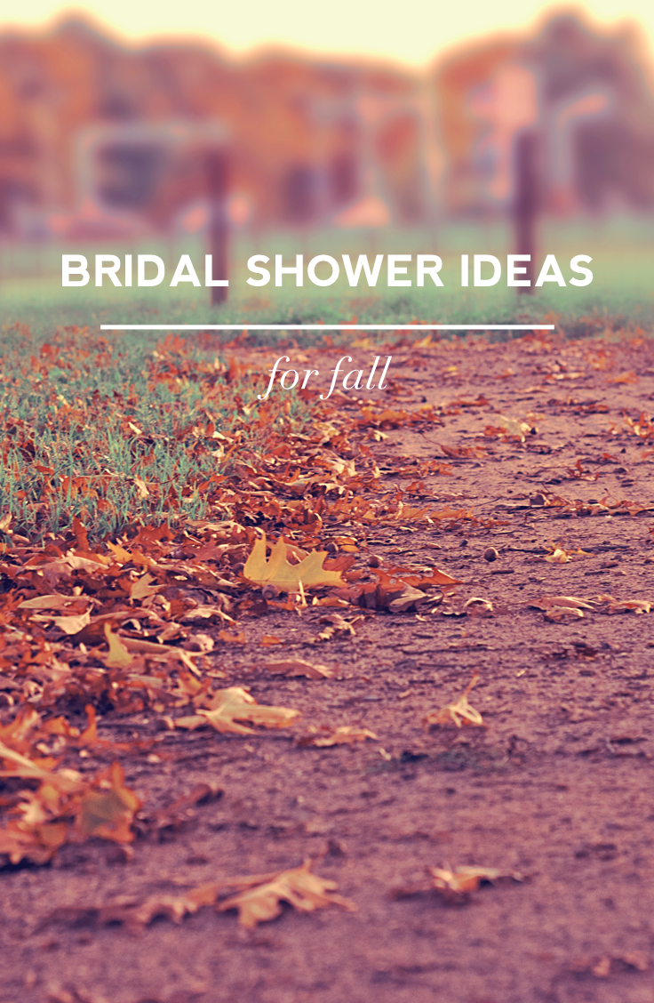 Fall bridal shower ideas and color palettes on Showerbelle.com