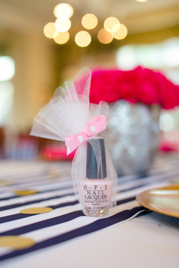 Recreate this bold amp preppy kate spade bridal shower brunch event