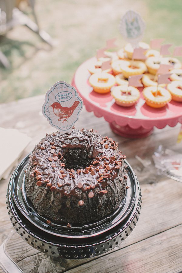 Chocolate Bundt Cake, Photo by Anna Delores Photography
