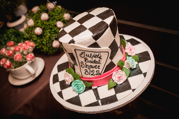 Mad Hatter Cake, Photo by Joe Grant Photography