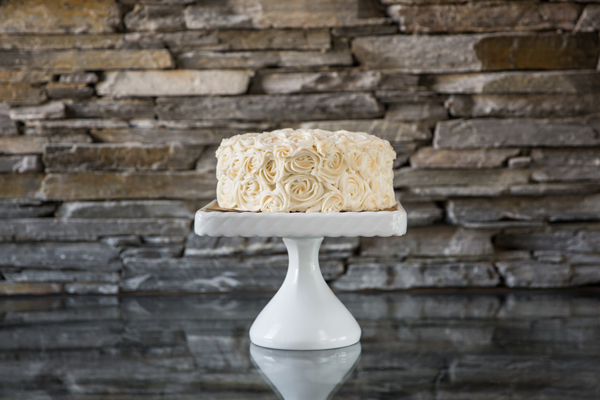 Rosette Cake, Photo by Carla Boecklin Photography
