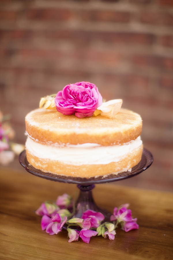 Naked Cake, Photo by Seriously Sabrina Photography