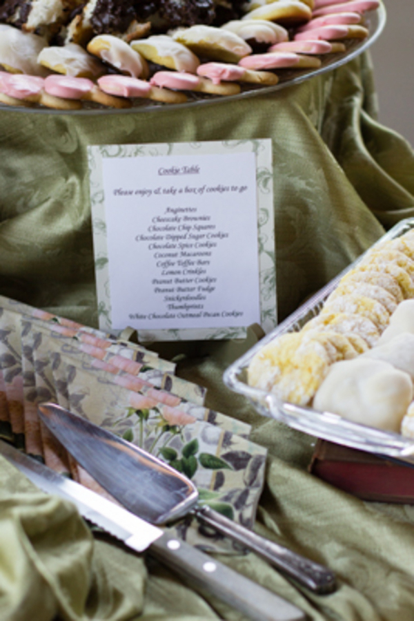 Come see this adorable and creative library bridal shower on Showerbelle.com
