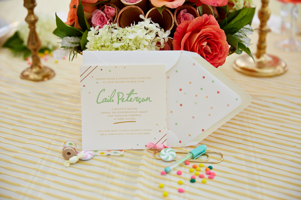pretty spring bridal shower ideas on showerbellecom