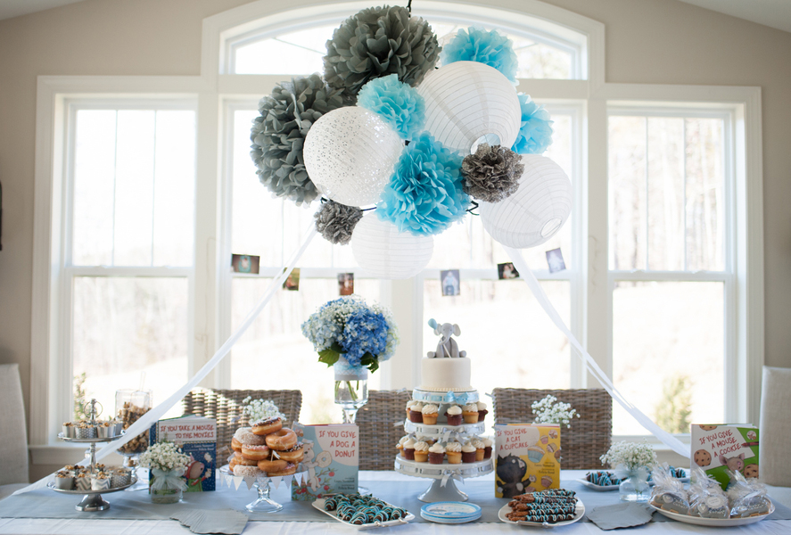 The Most Clever Storybook Baby Shower Youu0027ll Ever See