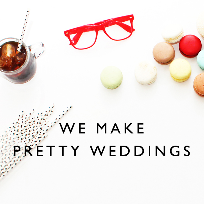 We make pretty weddings. Find out how.