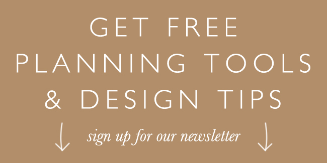 Sign up for our newsletter to receive free wedding planning tools today!