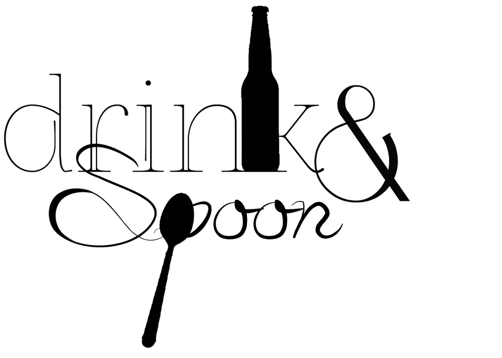 Drink & Spoon > First Edition Logo. Created in collaboration with  Stephanie Biller    For Chelsea Mitchell >  https://drinkandspoon.wordpress.com