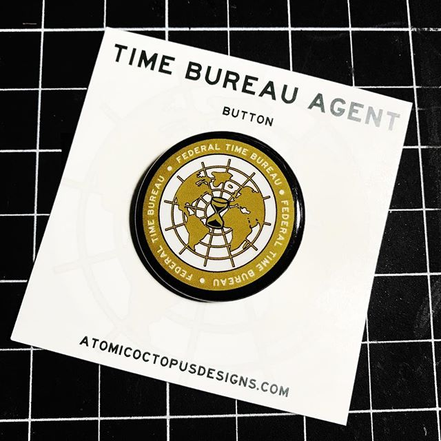 Join the Time Bureau for only $3! Get a button now, available in my Etsy shop! . . . #LegendsOfTomorrow #AvaSharp #TimeBureau #Cosplay #Avalance