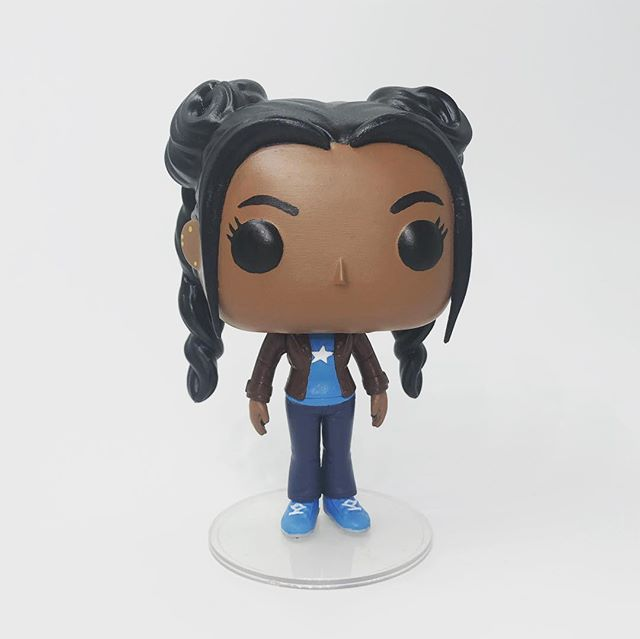 SPACE BUNS! My newest Yasmin Khan custom Funko featuring her awesome space buns! @bbcdoctorwho . . . #DoctorWho #YasminKhan #Thasmin #CustomFunko #FunkoPop #Whovian #ThirteenthDoctor