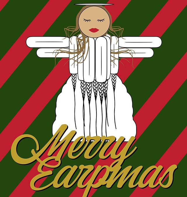 Nothing says the holidays like a tampon angel! Merry Earpmas from Atomic Octopus Designs! 🎄 . . . #WynonnaEarp #WaverlyEarp #NicoleHaught #DocHolliday #Earper #Christmas #WayHaught