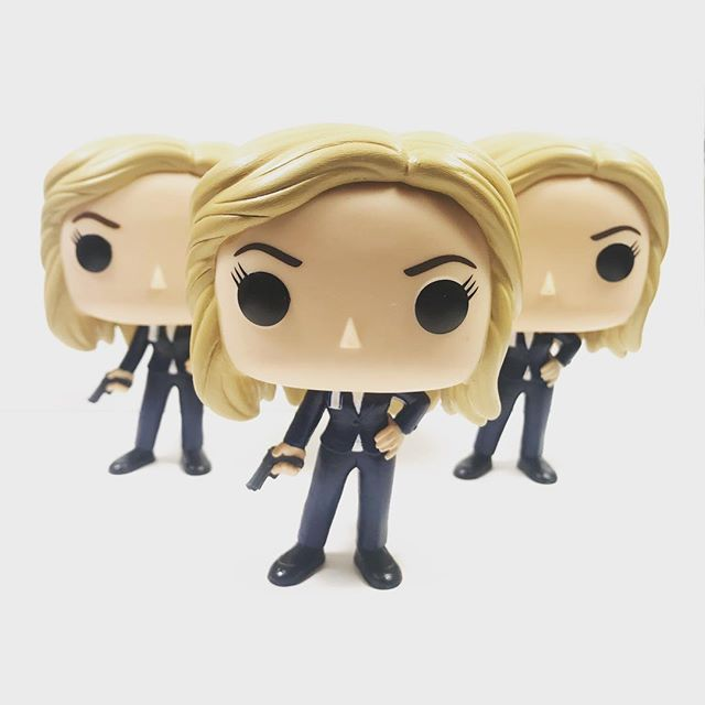 'Found' all these Ava clones from 2213! They will be available at #ClexaCon in April! . . . #LegendsOfTomorrow #AvaSharpe #Avalance #DCTV #CustomFunko #FunkoPop