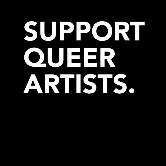 Support Queer Artists. Half of profits from every shirt sold will be donated to GLAAD! 🏳️🌈 Purchase one here: teepublic.com/t-shirt/3764915-support-queer-artists . . . #LGBT #QueerArtists #GLAAD #Artist #GraphicDesigner #TShirtDesign #Charity