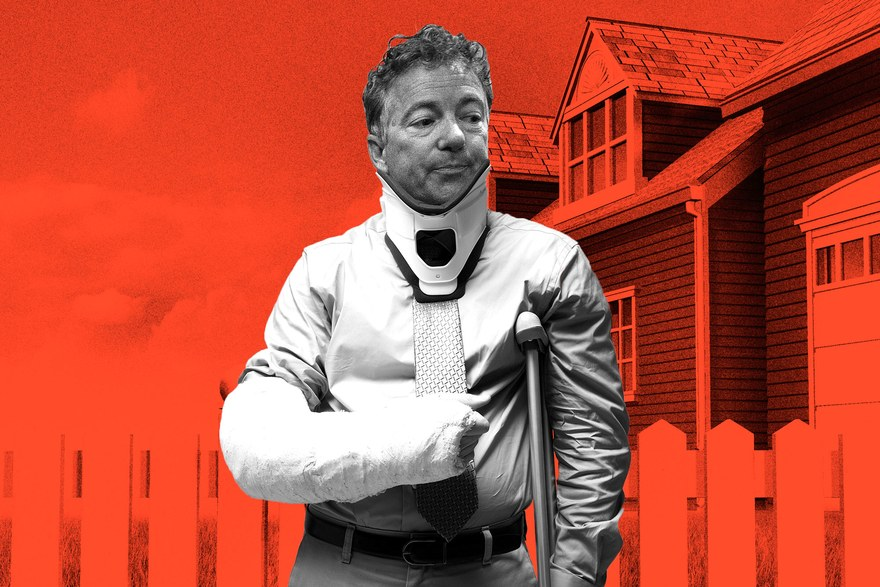 The Bizarre True Story of Rand Paul's Broken Ribs GQ, November 2017