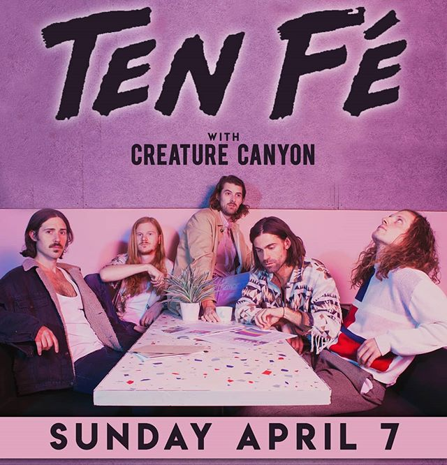 San Diego! April 7th we'll be at @casbahsandiego with @tenfemusic