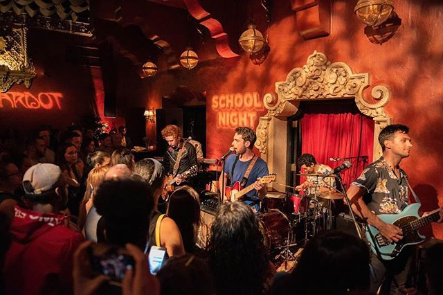 LA! Thanks for coming out and having some fun with us at @itsaschoolnight! 🎓 • We'll be at the @casbahsandiego this Sunday with @tenfemusic! Tickets in bio 📸: @_.christofer._