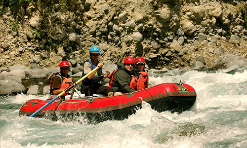 Wilderness raft trips