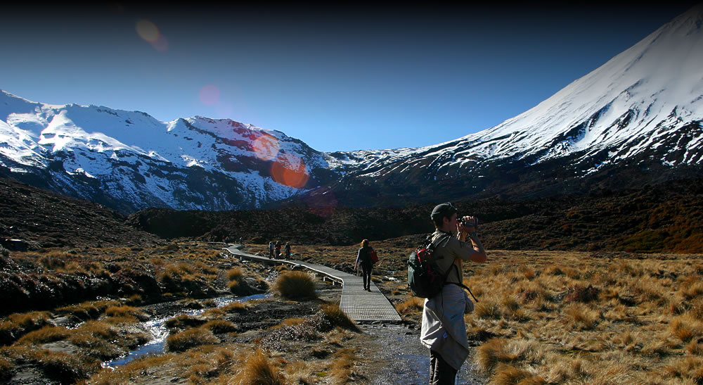 Walking the Tongariro Crossing with Tongariro Lodge