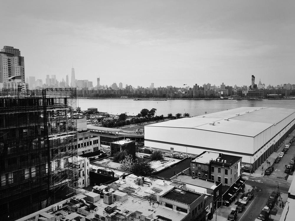 Hythe Hotel Rooftop. Williamsburg, Brooklyn.