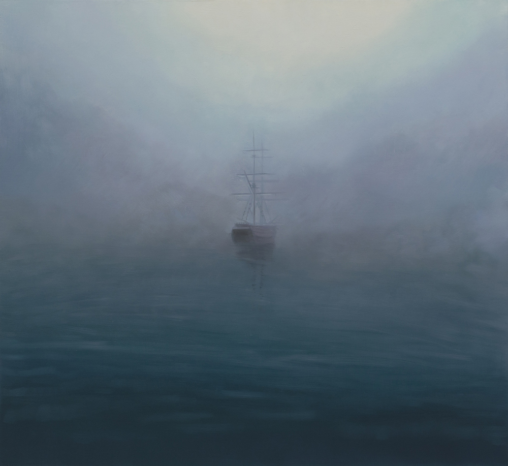 Solitude on an Hidden Sea 55cm x 60cm Oil on Board.jpg