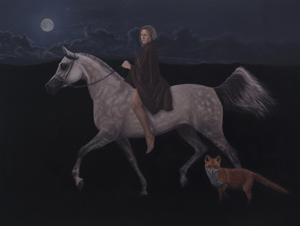 The Teumessian Fox 120cm x 91cm Oil on Board.jpg