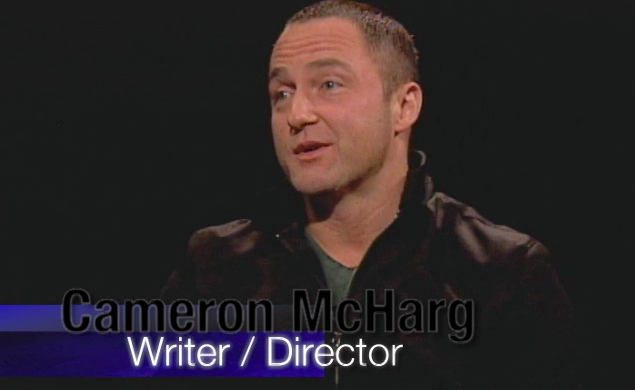 Screenshot of upcoming interview from Del Weston on Film.