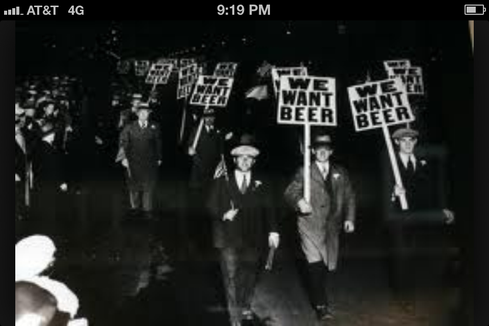 Prohibition was overturned today in 1933.