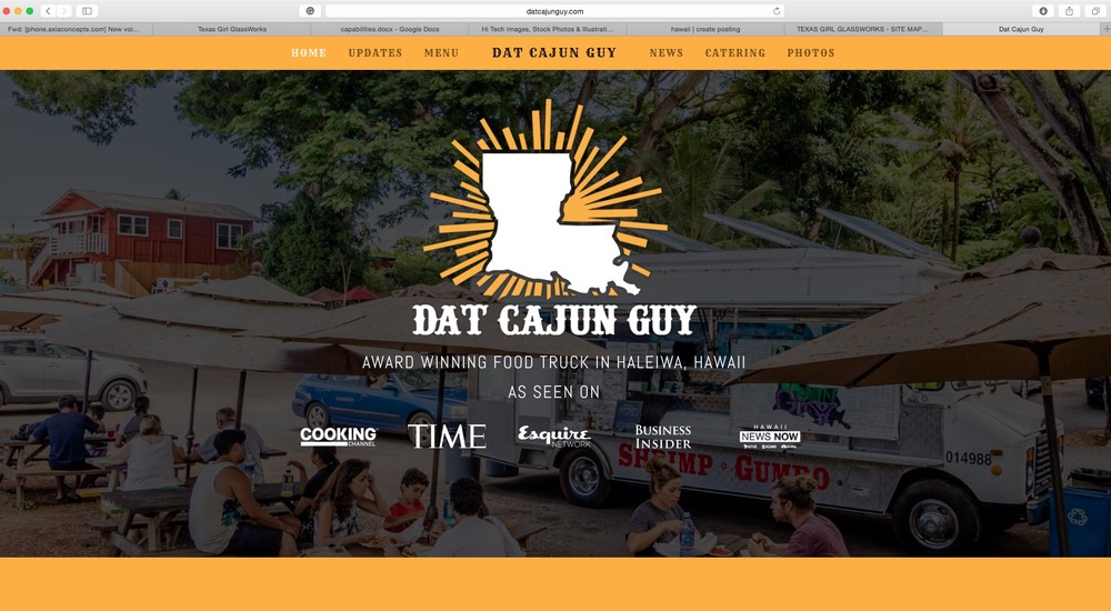 Dat Cajun Guy's Website