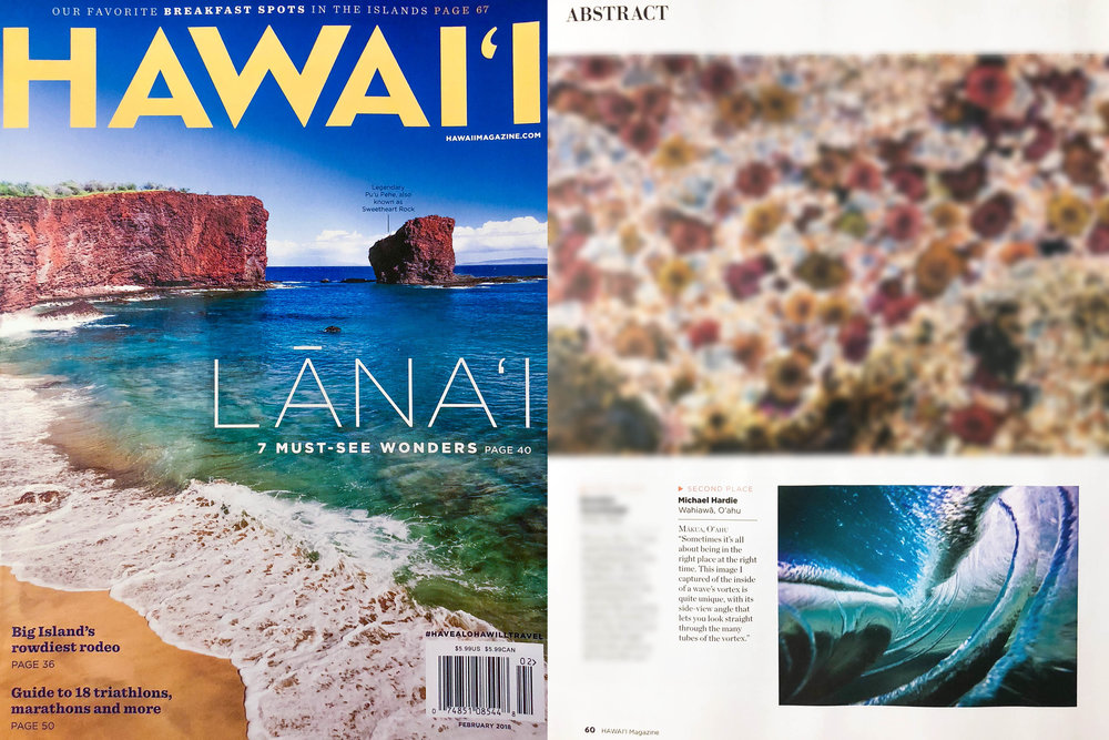 RIBCAGE  - published in the JAN /FEB issue of Hawaii Magazine