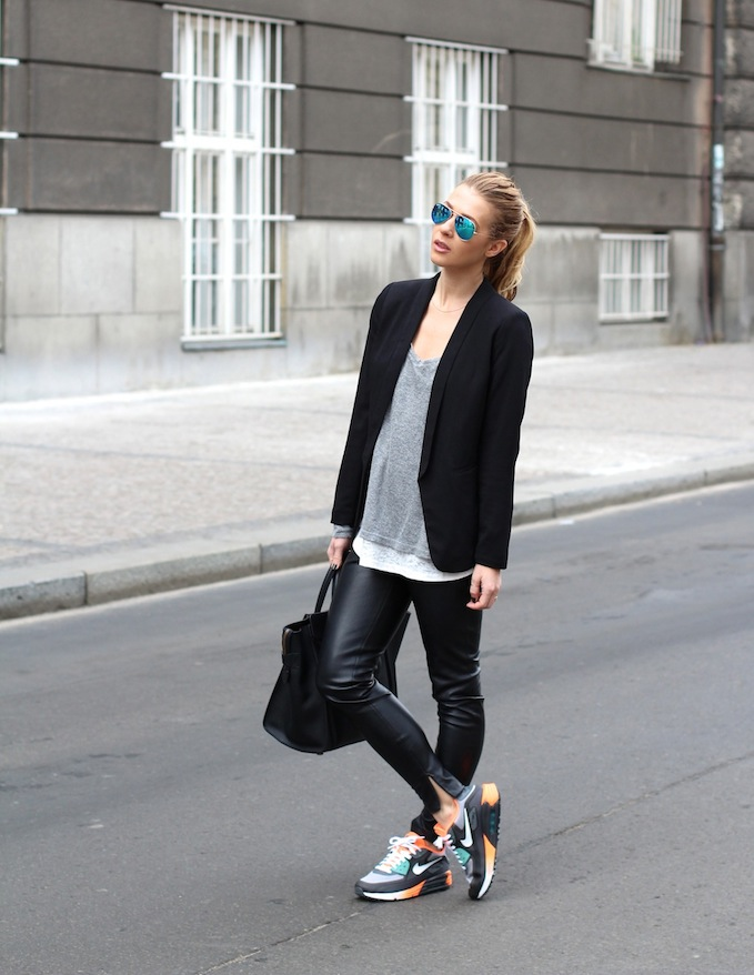 sneakers nike street style