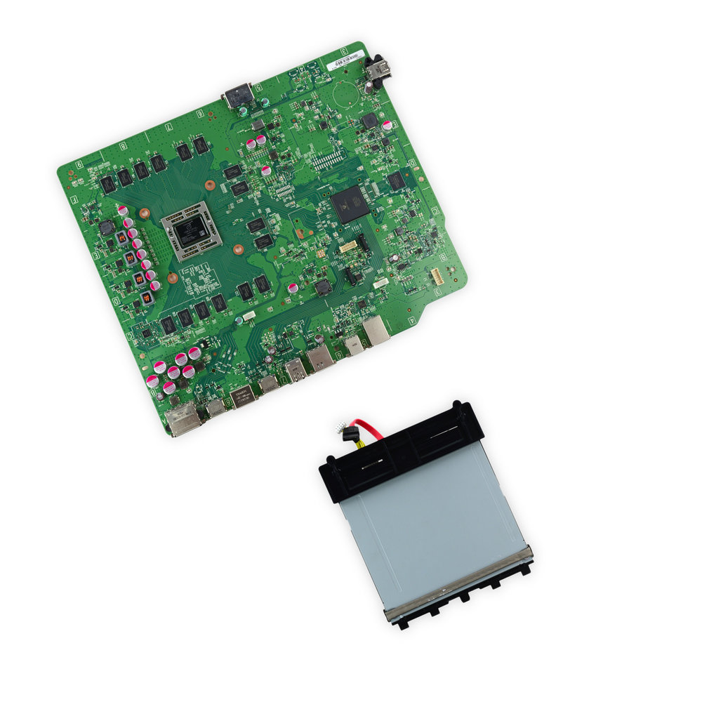 Xbox One Parts Fasttech Motherboard 360 And Drivegif