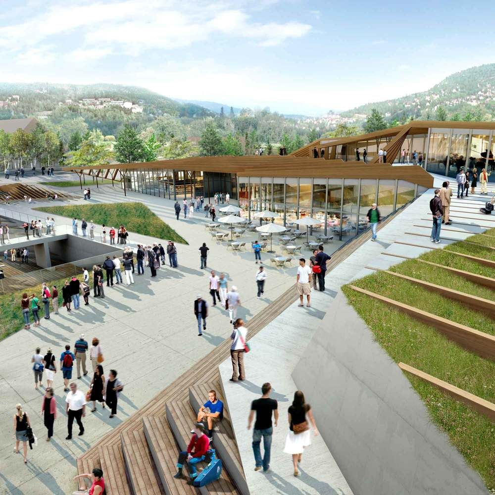 NOTODDEN  / LIBRARY AND CONCERT HOUSE