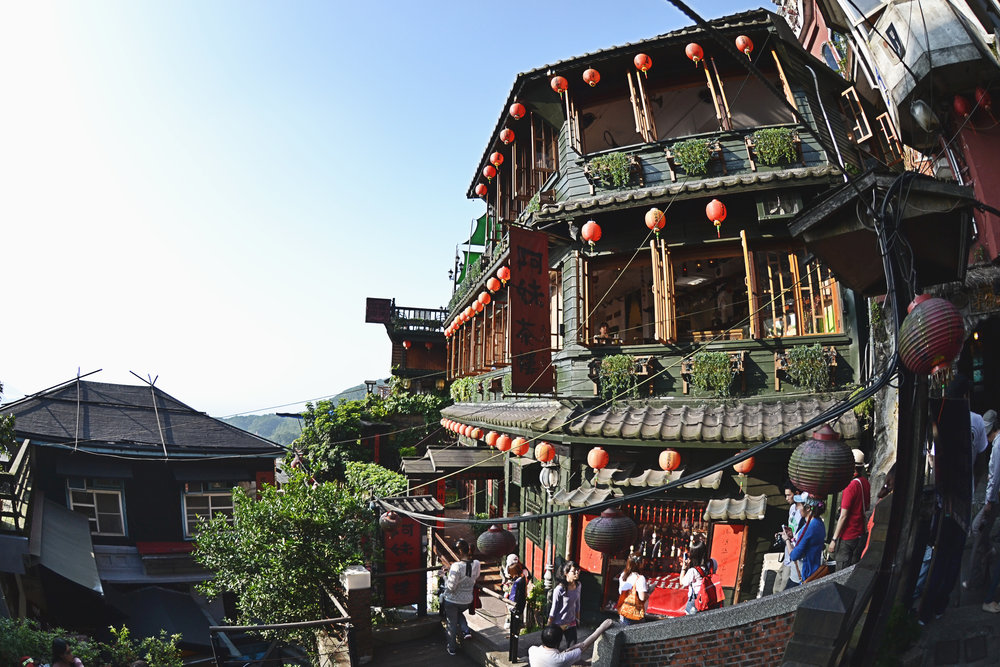"The A Mei Teahouse, which is known to be the inspiration for the bathhouse in Hayao Miyazaki's ""Spirited Away."""