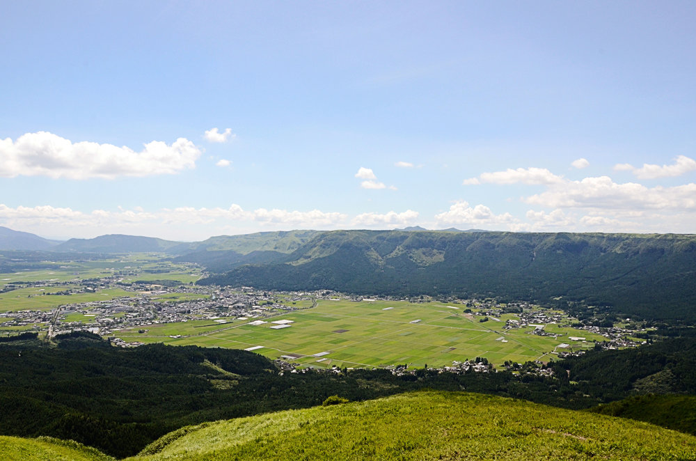 View of Mt Aso