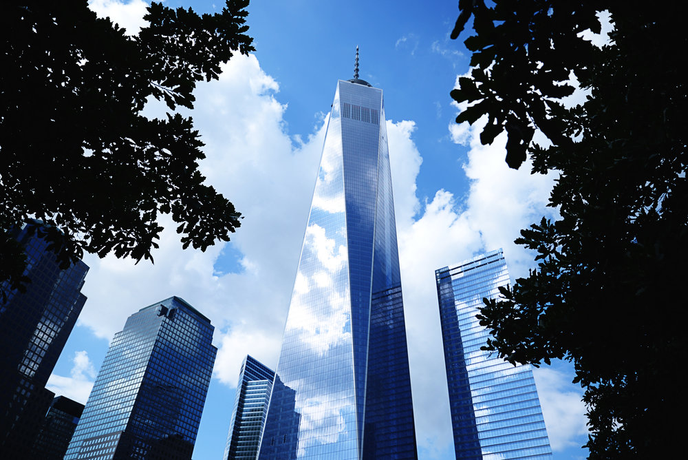 Freedom Tower. Stop by the 9/11 World Trade Center Memorial nearby to pay tribute to the victims and fallen heroes.