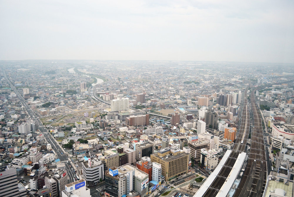 Hamamatsu city taken from the Act Tower