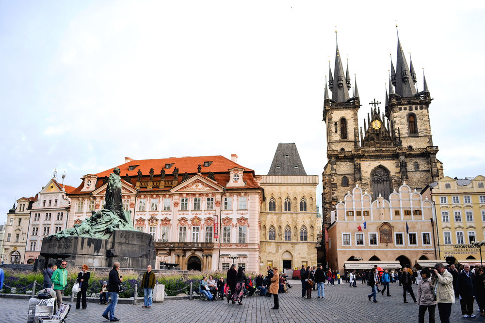 Old Town Square with the Church of Our Lady before Týn