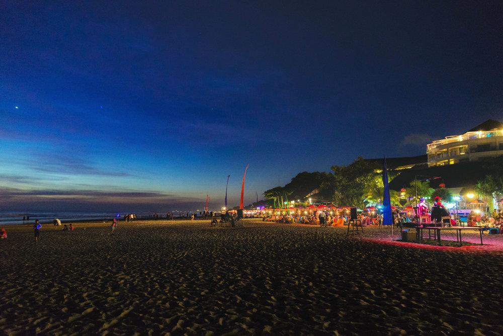 Beach in Seminyak, Bali