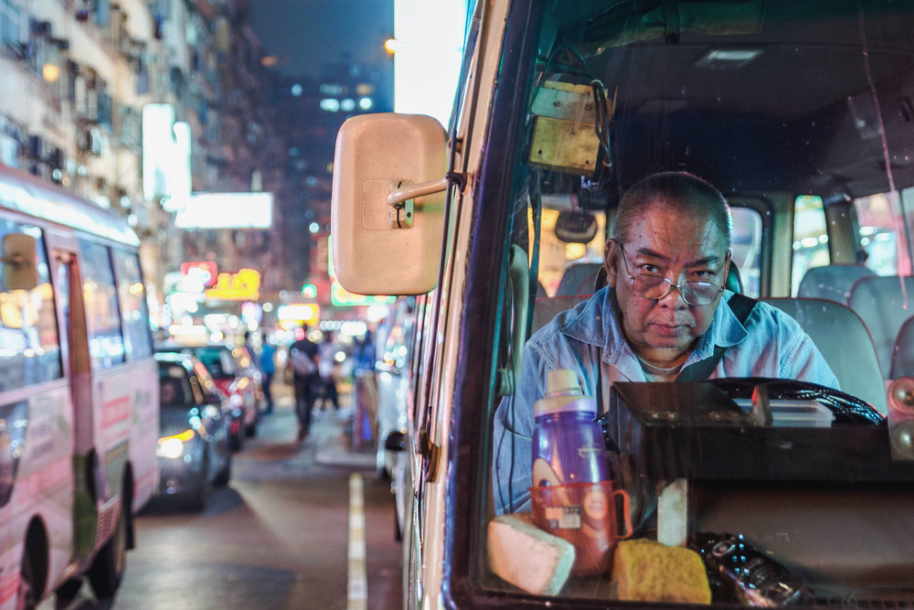 Hong Kong Bus Driver