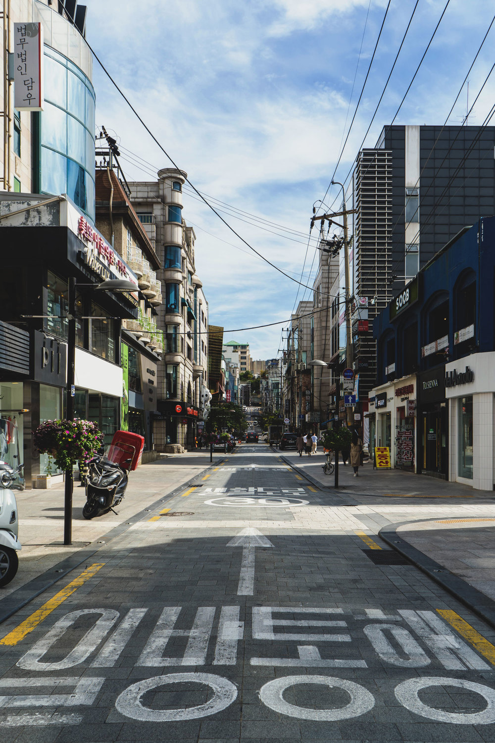 A street in Apkujeong
