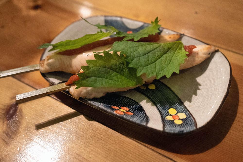 Ume-shiso chicken