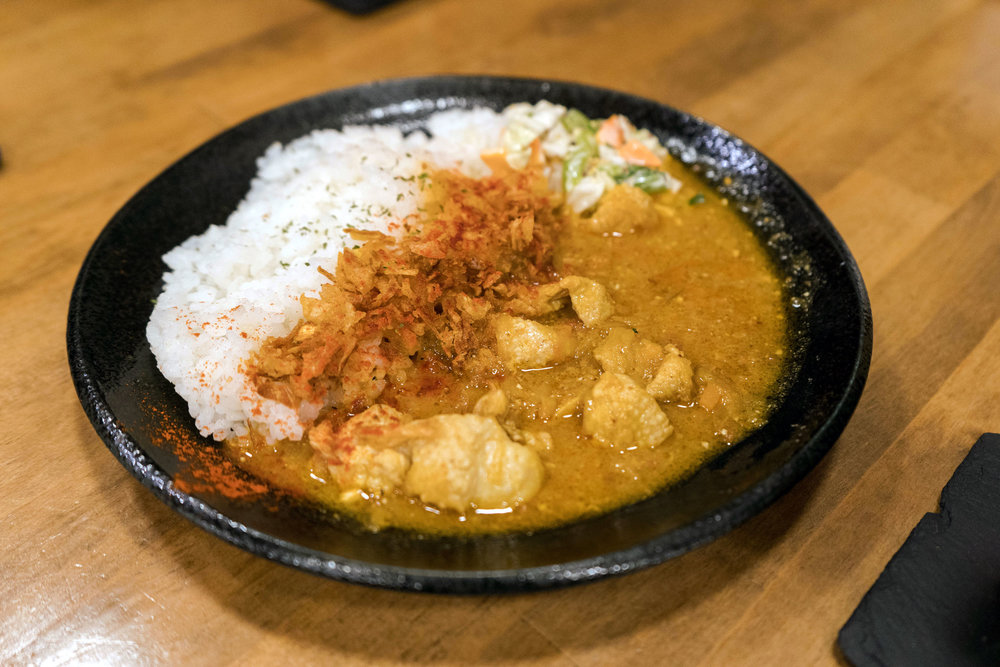 Curry at Hakko