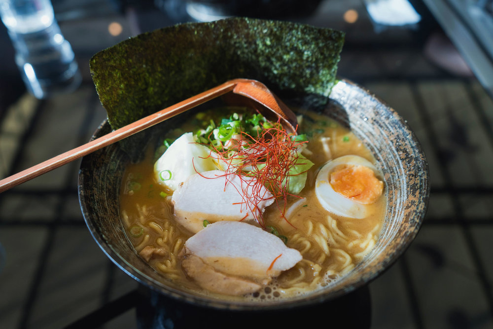 Local Zenkoji-miso chicken ramen