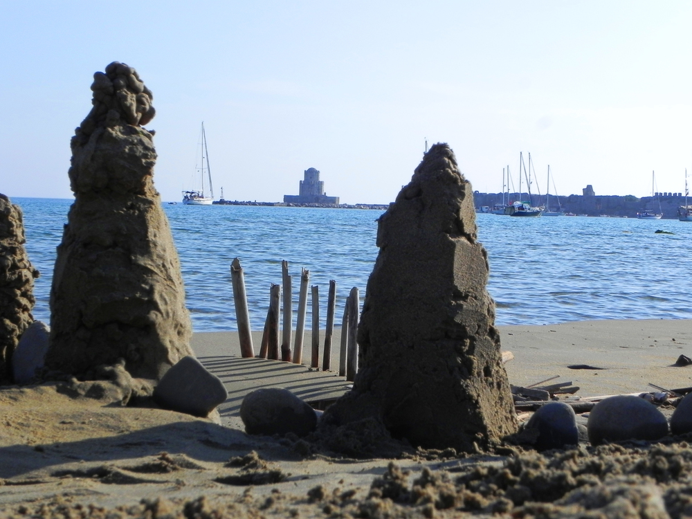 sandcastle - Methoni